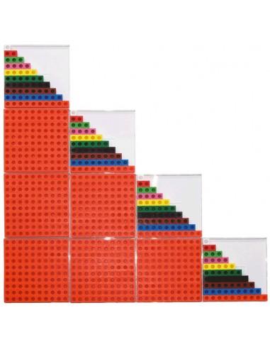 l'escalier des 40 premiers nombres