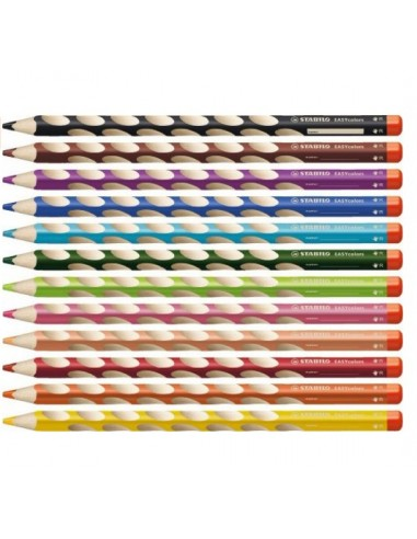 Crayons de couleur  Easy colors GAUCHER