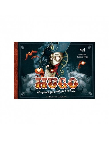 Pack livre + CD  Hugo le pirate qui...