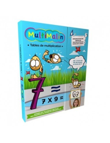 MULTIMALIN- Tables de multiplication