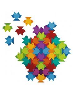 Mandala Puzzle Poissons
