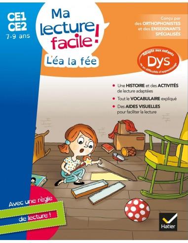 Ma lecture facile DYS CE1-CE2 : Léa...