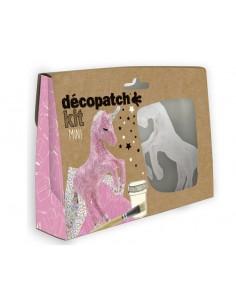 Mini kit Décopatch - licorne