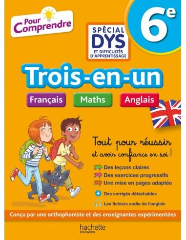 6e Spécial DYS (dyslexie)  Français...