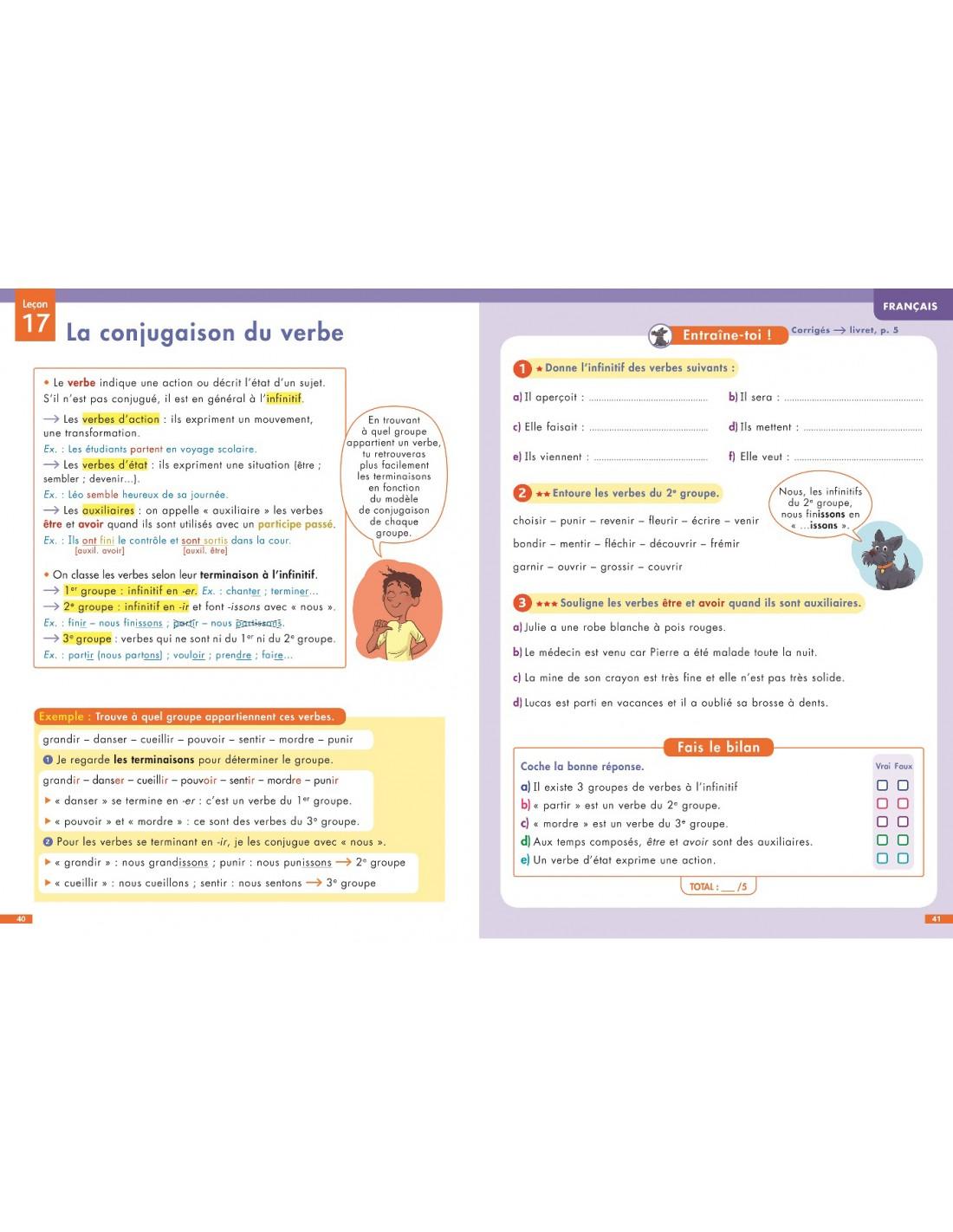 6e Special Dys Dyslexie Francais Maths Anglais