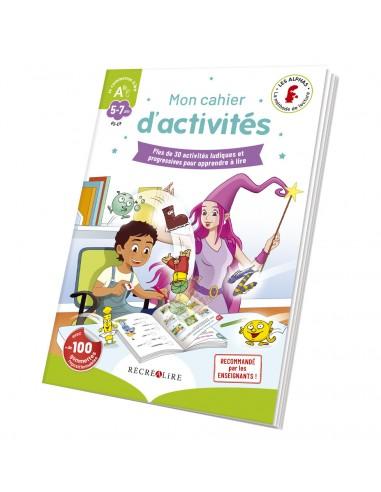 """Mon cahier d'activités """"Je commence à..."""